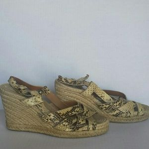 Marc by Marc Jacobs strappy espadrille wedges 8.5